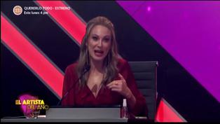 """Denisse Dibós en 'El artista del año': """"No todos estamos cegados por la belleza de Fabio"""""""
