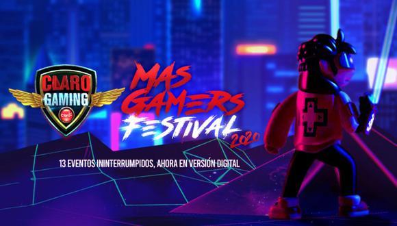 MasGamers Festival 2020. (Difusión)