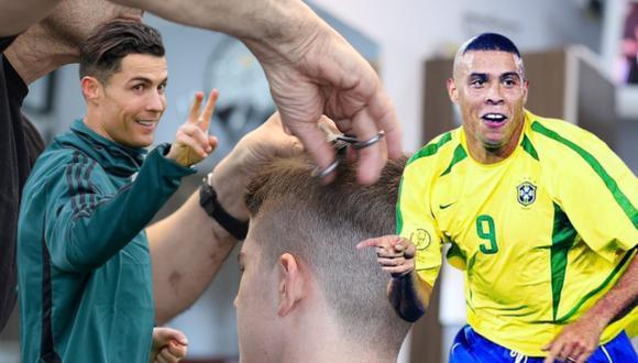 Un niño aprendió a la mala que existe más de un Ronaldo en el planeta fútbol al momento de pedirle a alguien de confianza que te corte el cabello como el jugador. (Foto: Pexels/@cristiano en Instagram/@ronaldo en Instagram)