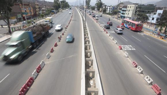Vía de Evitamiento: desviarán el tránsito en Av. Zarumilla desde mañana. (Foto: El Comercio)