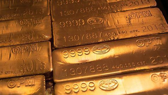 Los futuros del oro en EE.UU. declinaban un 0.1% a US$1,317.70 por onza. (Foto: Reuters)