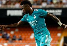 "Vinicius se refirió a su gran nivel goleador: ""El equipo me da confianza"""