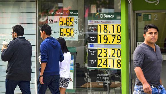 Este jueves la sesión abría con un retroceso generalizado del dólar. (Foto: AFP)