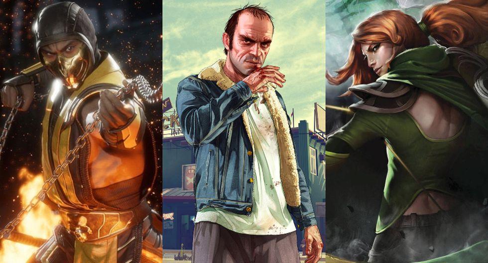 En muchos casos, las censuras de los videojuegos por parte de algunos países se debe por la violencia explícita de los títulos. (Foto: NetherRealm Studios/Rockstar Games/Valve)