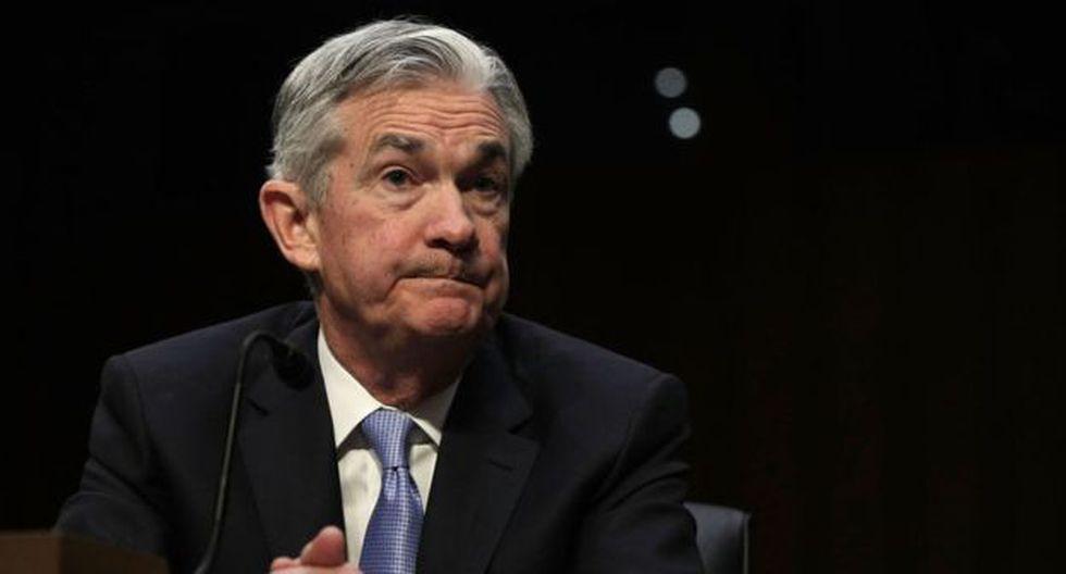 Jerome Powell, presidente de la FED, ha enviado señales para calmar a los inversionistas. (Foto: Getty Images)