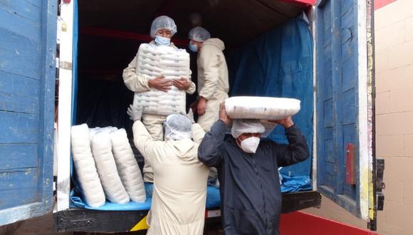 Ciento cinco comunidades campesinas recibieron 75.7 toneladas de alimentos en Puno (Foto: Qali Warma)