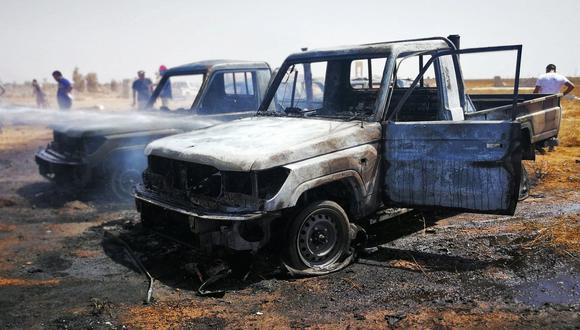 Ataque aéreo contra la ciudad libia de Morzuk deja 42 muertos. (Foto referencial, Reuters).