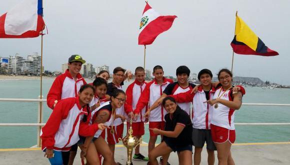 Perú ganó ocho medallas de oro en XII Copa de Aguas Abiertas