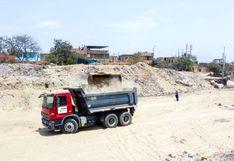 Trujillo: inician descolmatación de la quebrada San Ildefonso