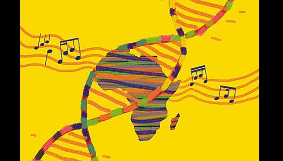 ADN musical (Ilustración: Nadia Santos)