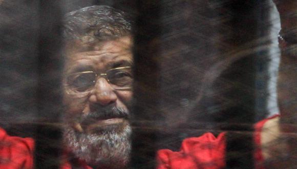 Muere Mohamed Mursi, ex presidente de Egipto, durante sesión en un tribunal. (EFE).
