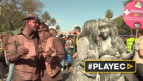 Argentina: Marcha del Orgullo Gay teñida de política [VIDEO]