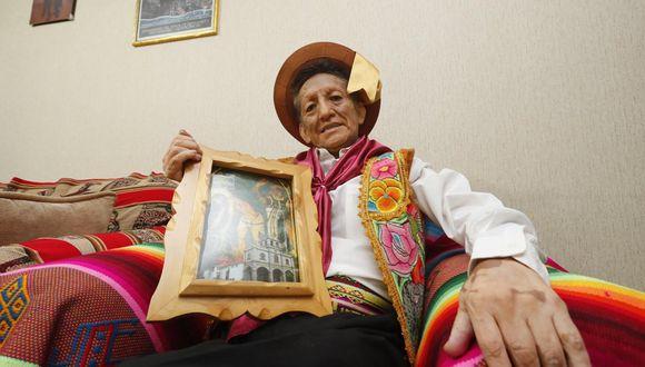"""Eusebio Chato Grados fue descubierto en 1969 por ese """"Augusto Ferrando de la música andina"""", el patriarca de la música andina, el promotor Luis Pizarro Cerrón. (Foto: USI)"""