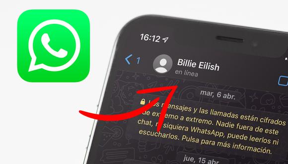 """¿Sabes quién está """"en línea"""" en WhatsApp? Usa este truco para saberlo. (Foto: Mockup)"""