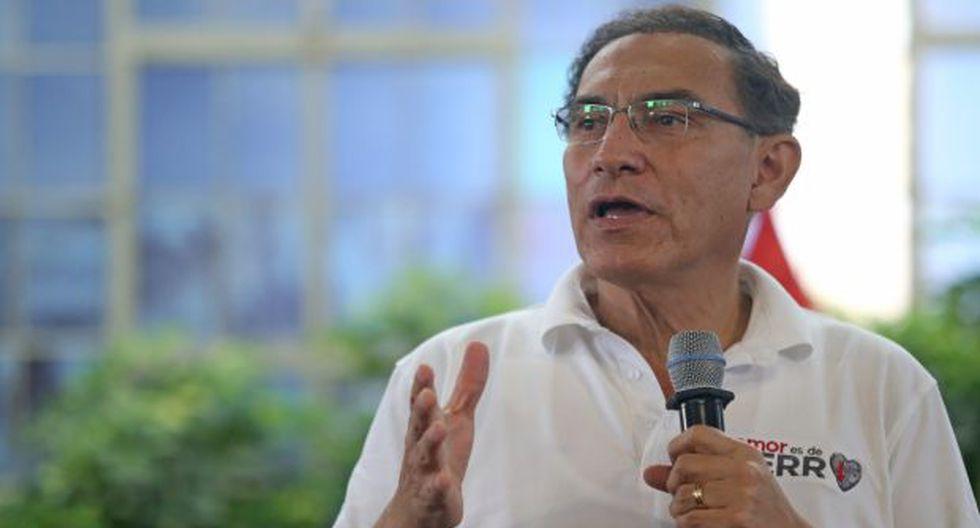 Martín Vizcarra reiteró que el Gobierno mantienen su postura a favor de tres preguntas del referéndum y en contra del proyecto de bicameralidad. (Foto: Presidencia / Video: TV Perú)