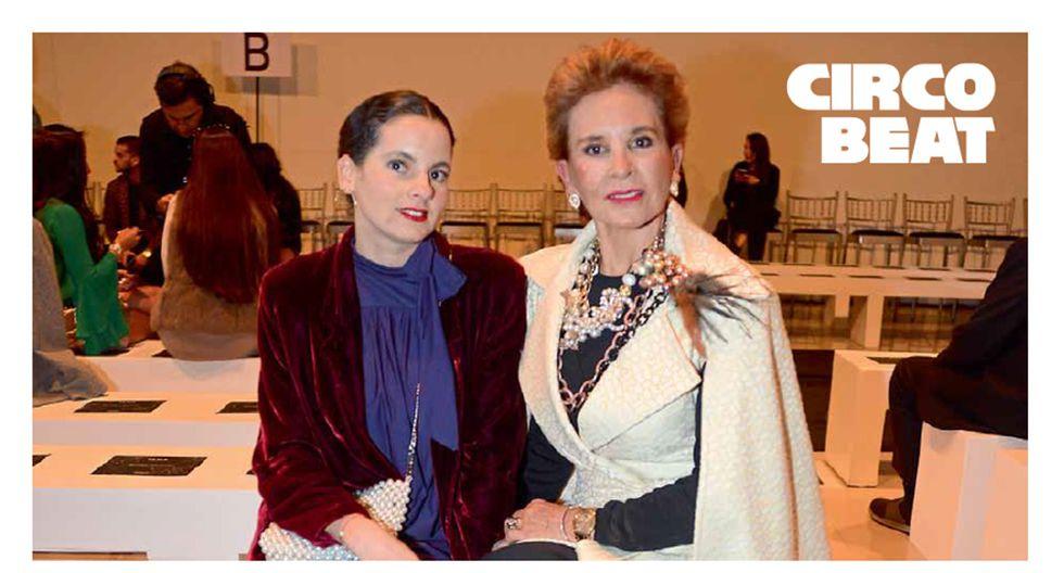 LO QUE SE HEREDA. Elegantes Emilia e Isabel Serkovic no se pierden una jornada de LIF Week Primavera/Verano 2019-2020.