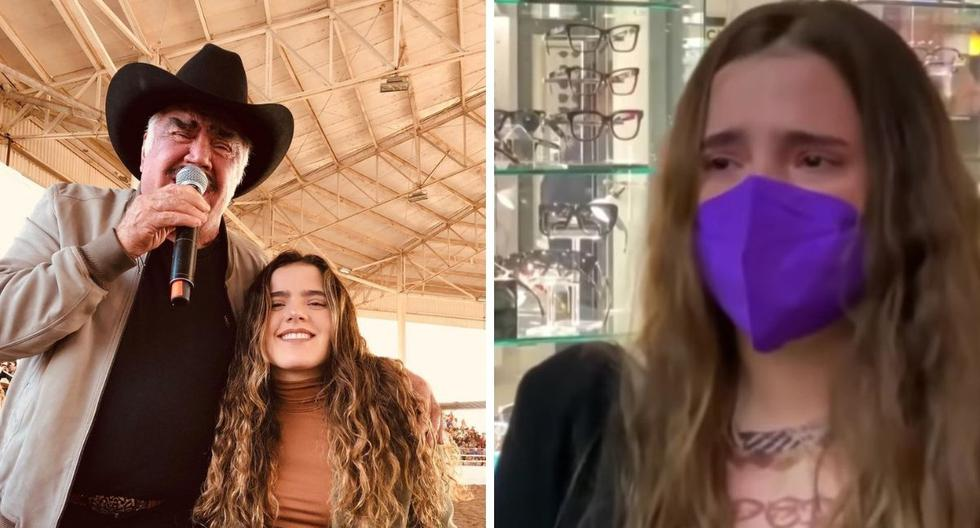 Vicente Fernández: his granddaughter cries and asks to pray for the Mexican singer