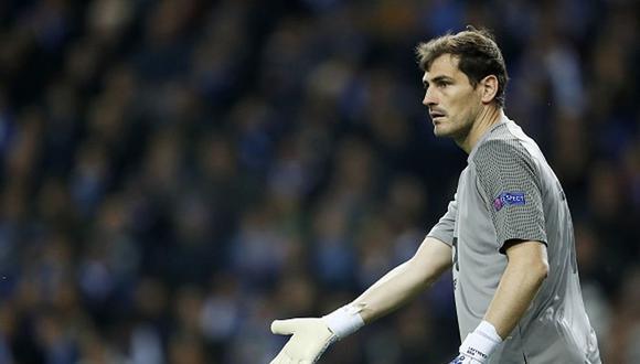 Casillas tiene contrato con Porto hasta 2020. (Foto: agencias)