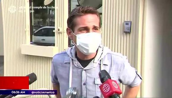 Dibós dijo que pide disculpas públicas e indicó que viene recibiendo amenazas tras el incidente. (Foto: captura de pantalla/América TV)