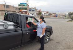 Coronavirus en Perú: Transportistas pasan control de temperatura antes de ingresar a Tacna
