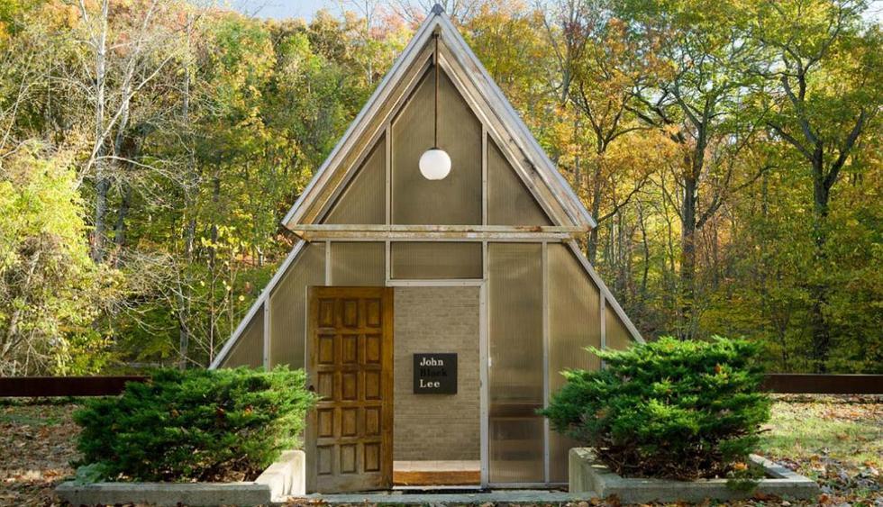 ¿Un invernadero? Descubre la belleza de esta mansión, que fue habitada por el reconocido arquitecto estadounidense John Black Lee. (Foto: williampitt.com)