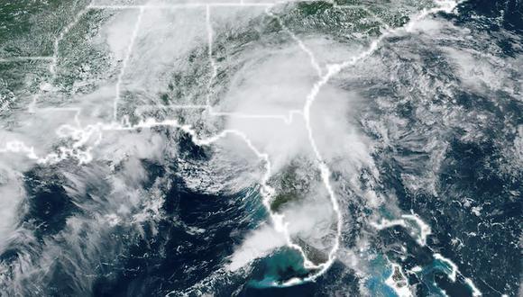 La tormenta Elsa se debilita pero arroja intensas lluvias a su paso por el sur de Georgia. (EFE).