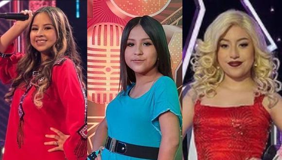 Amaia Montero, Laura Pausini y Christina Aguilera son las finalistas del concurso. (Fotos: Latina)