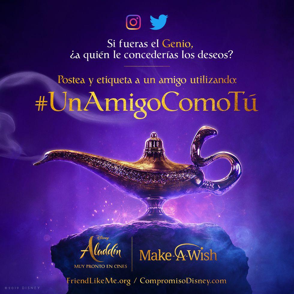 #UnAmigoComoTú, el desafío de Disney y Make-A-Wish con la participación de Will Smith.