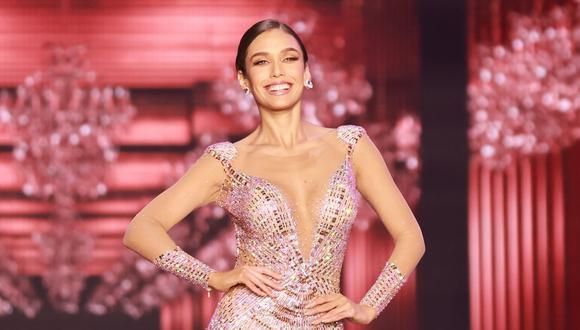 Janick Maceta, Miss Perú Universo. (Foto: EFE/ Tracy Nguyen)