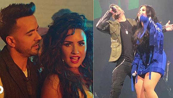 """″Échame la culpa"""" de Luis Fonsi y Demi Lovato supera los 2.000 millones de visitas  (Foto: captura video)"""