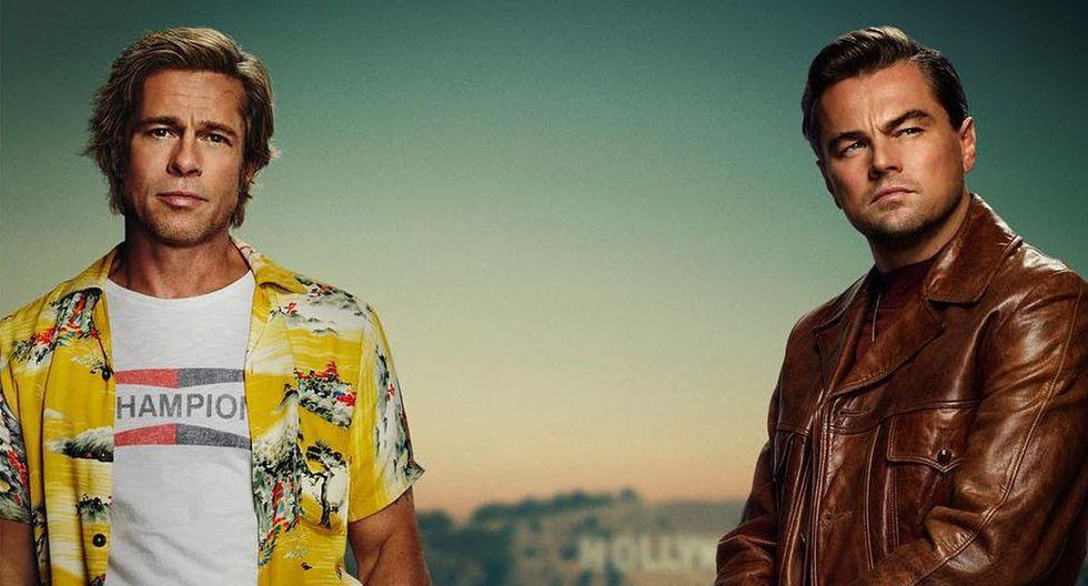 """Brad Pitt y Leonardo DiCaprio protagonizaron """"Once Upon a Time in Hollywood"""", la novena película de Quentin Tarantino. (Foto: Sony Pictures)"""