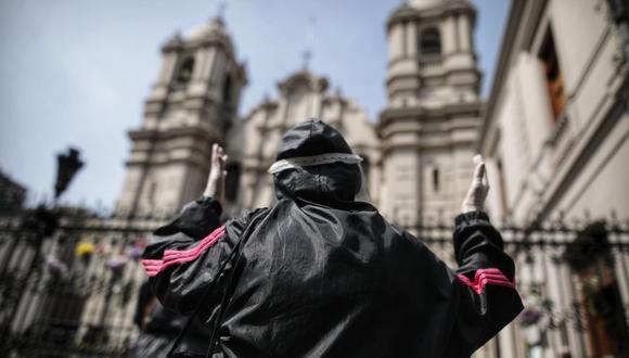 A raíz de la pandemia, las iglesias y centros de culto cerraron sus puertas desde la segunda quincena de marzo. (Foto: Anthony Niño de Guzmán / @photo.gec)