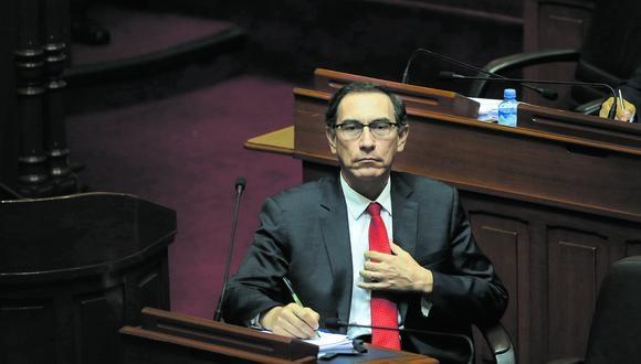 Martín Vizcarra habría recibido S/1 millón del consorcio Obrainsa-Astaldi en 2014 por la buena pro del proyecto Lomas de Ilo, en Moquegua. (Foto: Archivo)