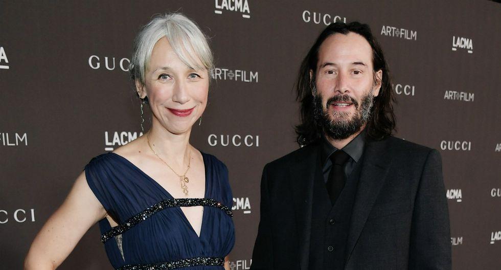 Keanu Reeves presentó a su primera novia en décadas y sus fans enloquecieron. (Foto: AFP)