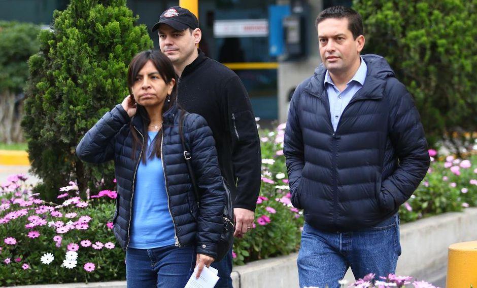 Keiko Fujimori recibió ayer la visita de su esposo, su abogada y algunos congresistas como Miguel Torres. (Foto: Fernando Sangama)
