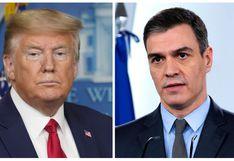 Donald Trump pone a Pedro Sánchez como ejemplo de lo que no se tiene que hacer ante el coronavirus