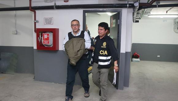 Pier Figari cumple prisión preventiva en el penal Miguel Castro Castro. (Foto: GEC)