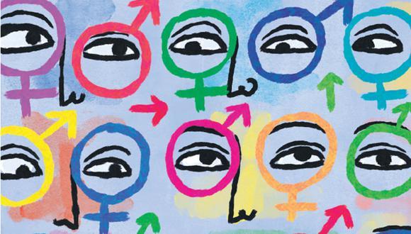 Lo queer es para muchas personas el espacio de la indefinición. Pero, ¿es solo eso? (Ilustración: Víctor Aguilar)