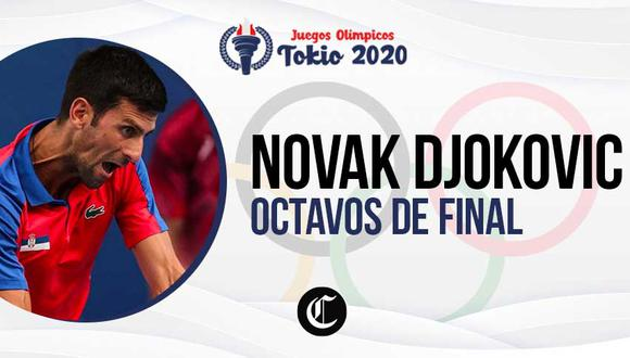 Djokovic vs. Davidovich EN VIVO: sigue EN DIRECTO los octavos de final de Tokio 2020