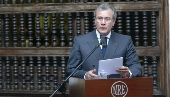 Canciller: Opté por García Sayán debido a su amplia trayectoria