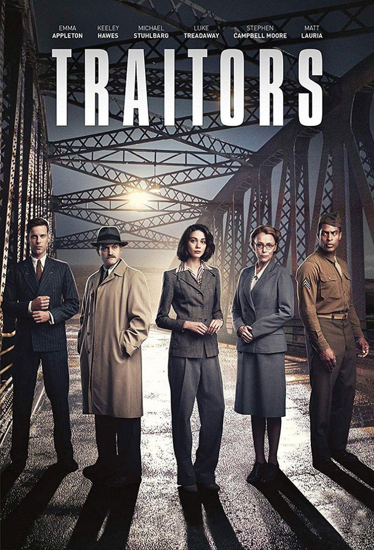 "Emma Appleton, Michael Stuhlbarg y Luke Treadaway sonlos protagonistas de ""Traidores"" (Foto: Netflix)"