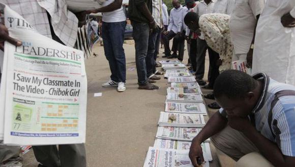 Militares de Nigeria destruyen diarios que critican al gobierno