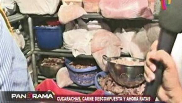 Lima: hallan insectos y alimentos podridos en restaurantes