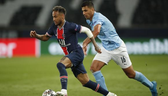 Neymar buscará la remontada en la vuelta de las semifinal entre PSG y Manchester City. (Foto: EFE)