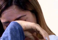 Tilsa Lozano rompe en llanto al hablar por primera vez de 'ampay' a su pareja | VIDEO