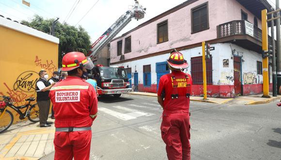 Un total de 48 bomberos activos han muerto por COVID-19. (Foto: Gonzalo Córdova)