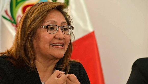 Ana María Choquehuanca espera que el Congreso tome cartas en el asunto en el caso de Moisés Mamani. (Foto: Agencia Andina)