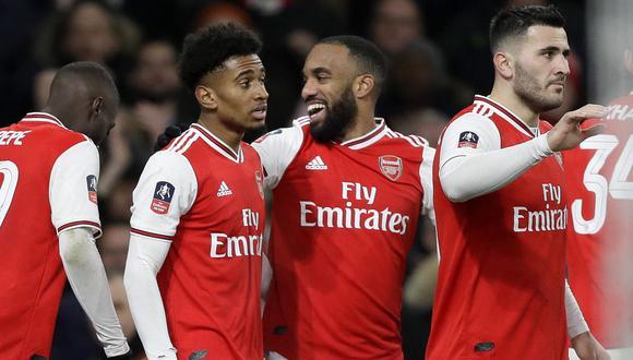 Arsenal es el primer equipo de la Premier League que vuelve a los entrenamientos. (Foto: AFP)