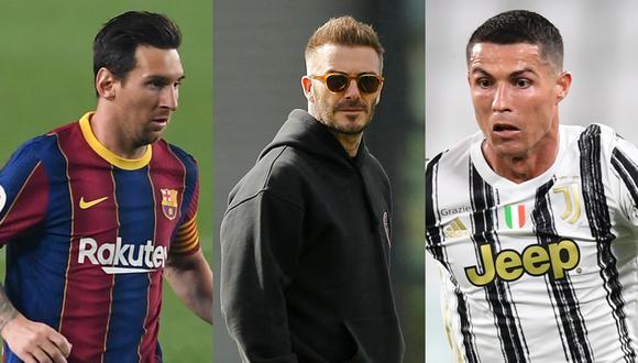 Beckham quiere a Messi y Cristiano en el Inter Miami