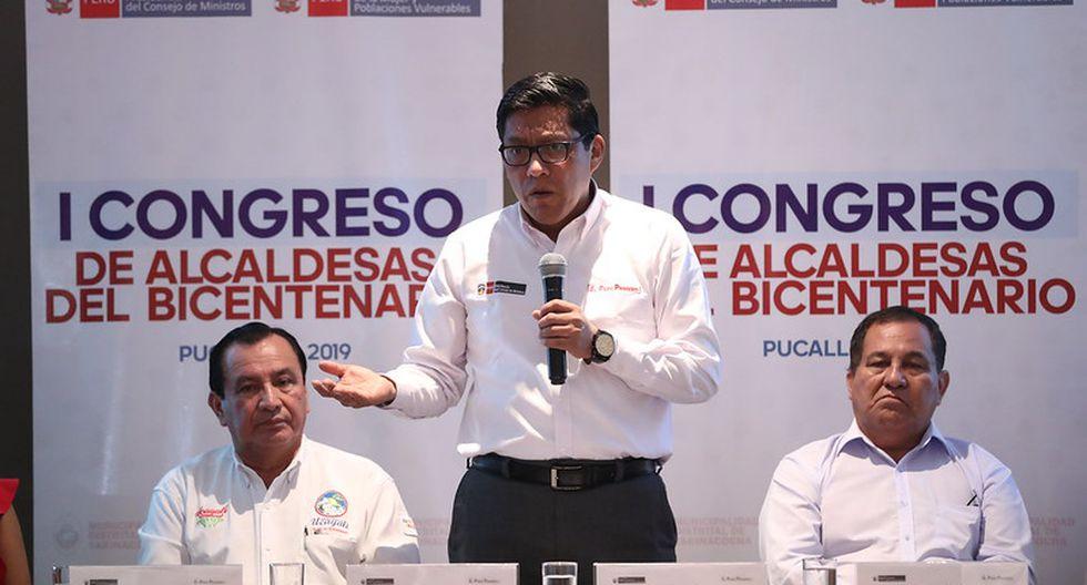 "Vicente Zeballos señaló que Pedro Olaechea es presidente ""de un Congreso inexistente"". (Foto: PCM)"